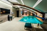 Marconio Wellness Club - Dnevni boravak i bazen