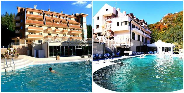 Lukovska banja, hoteli Jelak i Kopaonik