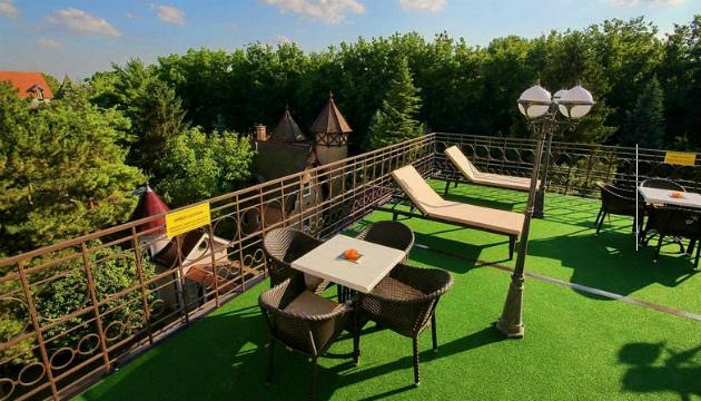 Terasa Garni hotela Palić Resort