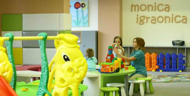 Dečja igraonica u hotelu Mona na Zlatiboru