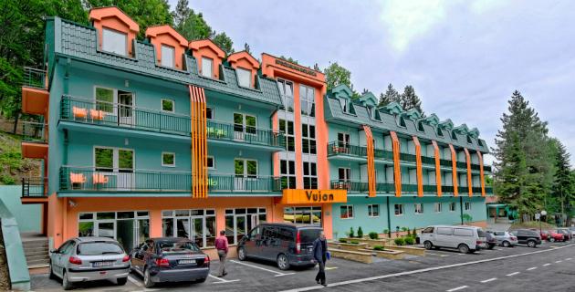 Hotel Vujan u Atomskoj banji Gornja Trepča