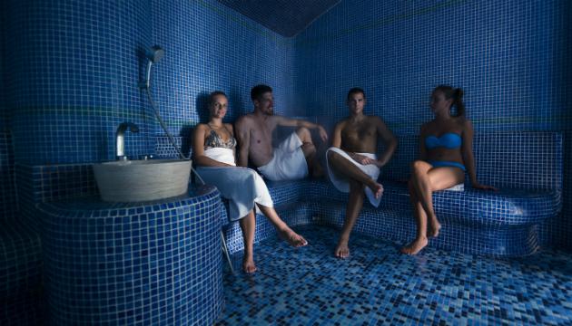 Parno kupatilo u hotelu Premier Aqua