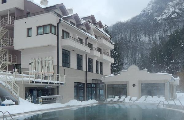 Zimska čarolija u Lukovskoj banji