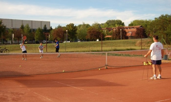 Banja Kanjiza - Teniski tereni