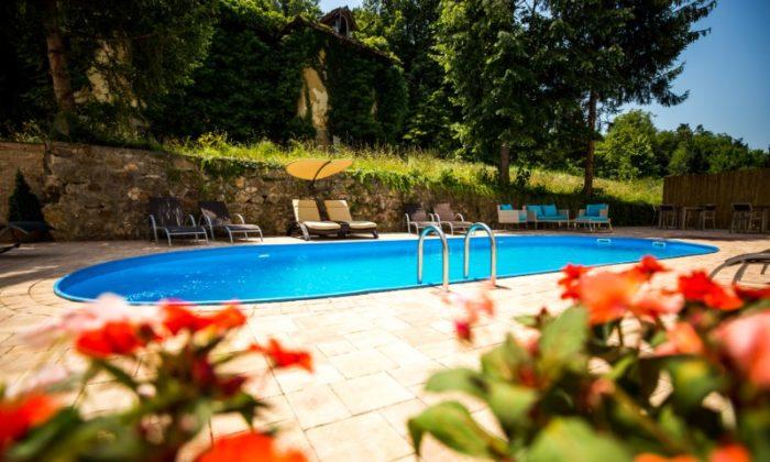 Hotel Slatina - Otvoreni bazen 2