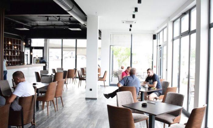 Hotel Ub - Restoran i lobi