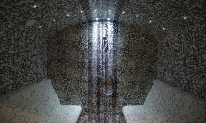Villa Breg - Parno kupatilo